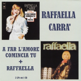 Audio CD: Raffaella Carra (1977) A Far L'Amore Comincia Tu + Raffaella