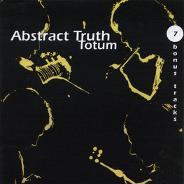 Audio CD: Abstract Truth (3) (1971) Totum