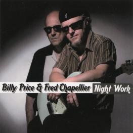 Audio CD: Billy Price (2009) Night Work
