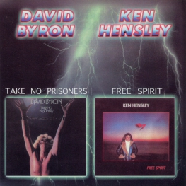 Audio CD: David Byron (1976) Take No Prisoners / Free Spirit