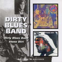 Audio CD: Dirty Blues Band (1967) Dirty Blues Band / Stone Dirt