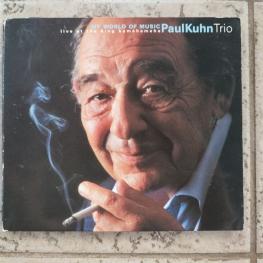 Audio CD: Paul Kuhn Trio (1999) My World Of Music (Live At The King Kamehameha)