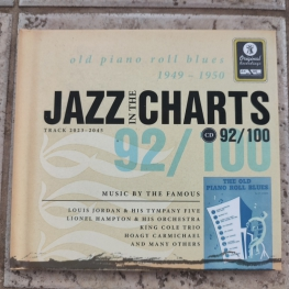 Audio CD: VA Jazz In The Charts 92/100 (2006) Old Piano Roll Blues (1949-1950)