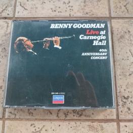 Audio CD: Benny Goodman (1978) Live At Carnegie Hall