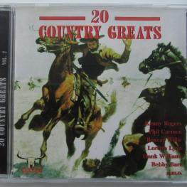 Audio CD: VA 20 Country Greats (1999) Vol. 2
