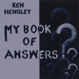 Audio CD: Ken Hensley (2021) My Book Of Answers