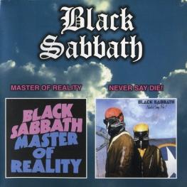 Audio CD: Black Sabbath (1971) Master Of Reality / Never Say Die!