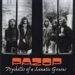 Audio CD: Pazop (1972) Psychillis Of A Lunatic Genius
