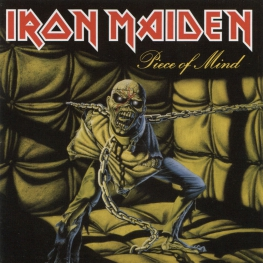 Audio CD: Iron Maiden (1983) Piece Of Mind