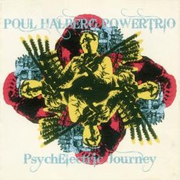 Audio CD: Poul Halberg Powertrio (2008) PsychElectric Journey