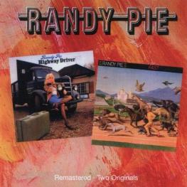 Audio CD: Randy Pie (1974) Highway Driver + Fast/Forward