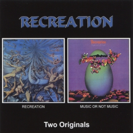 Audio CD: Recreation (3) (1970) Recreation / Music Or Not Music