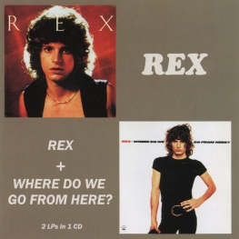 Audio CD: Rex (29) (1977) Rex + Where Do We Go From Here?