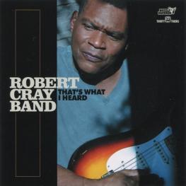 Audio CD: Robert Cray Band (2020) That's What I Heard