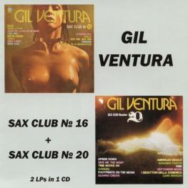 Audio CD: Gil Ventura (1977) Sax Club Number 16 + Sax Club Number 20