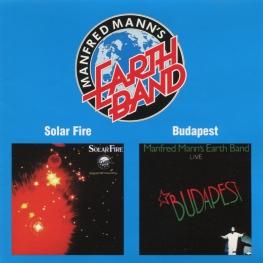 Audio CD: Manfred Mann's Earth Band (1973) Solar Fire / Budapest