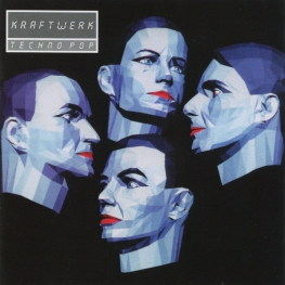 Audio CD: Kraftwerk (1986) Techno Pop (Electric Cafe)