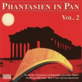 Audio CD: Dimo Dimov (1996) Phantasien In Pan Vol. 2