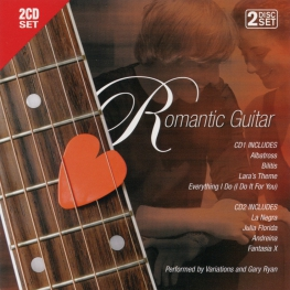 Audio CD: VA Romantic Guitar (2006) Compilation