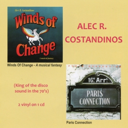Audio CD: Alec R. Costandinos (1979) Winds Of Change + Paris Connection