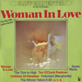 Оцифровка винила: Cliff Carpenter (1981) Woman In Love