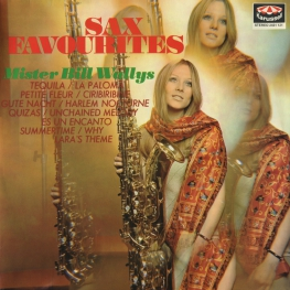 Оцифровка винила: Bill Wallys (1970) Sax Favourites