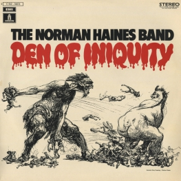 Оцифровка винила: Norman Haines Band (1971) Den Of Iniquity