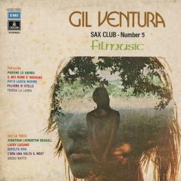 Оцифровка винила: Gil Ventura (1974) Sax Club Number 5 (Filmusic)