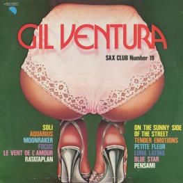 Оцифровка винила: Gil Ventura (1980) Sax Club Number 19