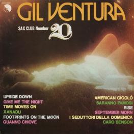Оцифровка винила: Gil Ventura (1980) Sax Club Number 20