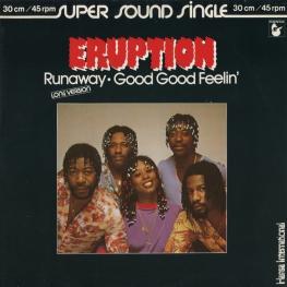 Оцифровка винила: Eruption (4) (1981) Runaway / Good Good Feelin'