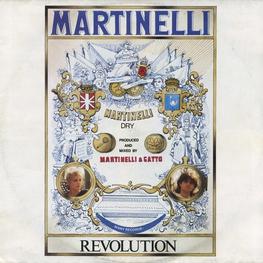 Оцифровка винила: Martinelli (1986) Revolution