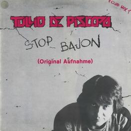 Оцифровка винила: Tullio De Piscopo (1984) Stop Bajon