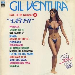 Оцифровка винила: Gil Ventura (1974) Sax Club Number 8 (Latin)