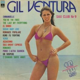 Оцифровка винила: Gil Ventura (1975) Sax Club Number 9