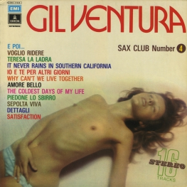 Оцифровка винила: Gil Ventura (1973) Sax Club Number 4