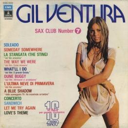 Оцифровка винила: Gil Ventura (1974) Sax Club Number 7