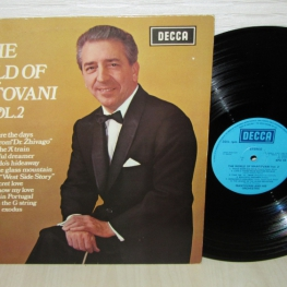 Виниловая пластинка: Mantovani And His Orchestra (1969) The World Of Mantovani Vol. 2