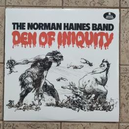 Виниловая пластинка: Norman Haines Band (1971) Den Of Iniquity
