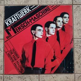 Виниловая пластинка: Kraftwerk (1978) Die Mensch-Maschine