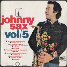 Оцифровка винила: Johnny Sax (1975) Vol/5