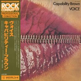 Оцифровка винила: Capability Brown (1973) Voice