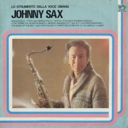 Оцифровка винила: Johnny Sax (1983) Lo Strumento Dalla Voce Umana